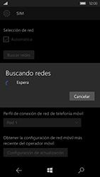 Microsoft Lumia 950 - Red - Seleccionar una red - Paso 8