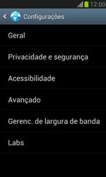 Samsung I8190 Galaxy S III Mini - Internet (APN) - Como configurar a internet do seu aparelho (APN Nextel) - Etapa 22