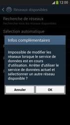 Samsung I9505 Galaxy S IV LTE - Réseau - Sélection manuelle du réseau - Étape 10