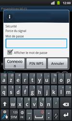 Samsung I9001 Galaxy S Plus - Wifi - configuration manuelle - Étape 7