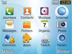 Samsung S3350 Chat 335 - Internet - Navigation sur Internet - Étape 2
