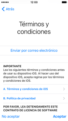Apple iPhone SE - Primeros pasos - Activar el equipo - Paso 21