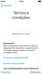 Apple iPhone SE iOS 10 - Primeiros passos - Como ligar o telemóvel pela primeira vez -  21