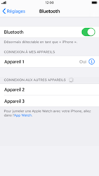 Apple iPhone 8 - iOS 13 - Bluetooth - connexion Bluetooth - Étape 8