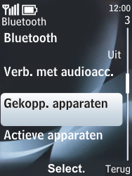 Nokia 6303 classic - Bluetooth - koppelen met ander apparaat - Stap 8
