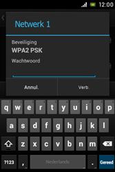 Sony C1505 Xperia E - Wifi - handmatig instellen - Stap 7