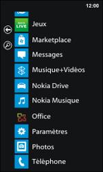 Nokia Lumia 800 - Photos, vidéos, musique - Ecouter de la musique - Étape 3
