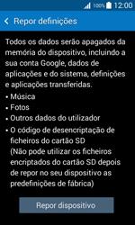 Samsung Galaxy Trend 2 Lite - Repor definições - Repor definições de fábrica do telemóvel -  7