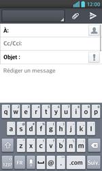 LG Optimus L5 II - E-mails - Envoyer un e-mail - Étape 5