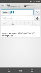 Sony Xperia E4g (E2003) - E-mail - Bericht met attachment versturen - Stap 8