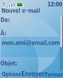 Nokia 3110 classic - E-mail - envoyer un e-mail - Étape 12