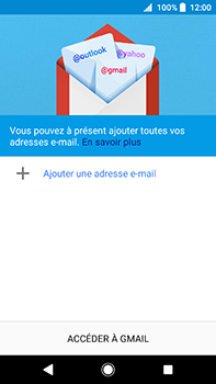 Sony Xperia XA2 Ultra - E-mail - Configuration manuelle (gmail) - Étape 6