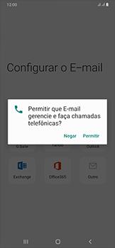 Samsung Galaxy A50 - Email - Como configurar seu celular para receber e enviar e-mails - Etapa 10