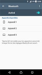 Sony Xperia XA - Android Nougat - Bluetooth - connexion Bluetooth - Étape 8
