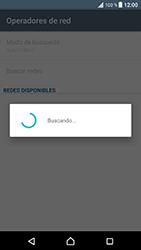 Sony Xperia XZ - Android Nougat - Red - Seleccionar una red - Paso 7