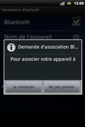 Sony Ericsson Xperia Mini Pro - Bluetooth - connexion Bluetooth - Étape 10