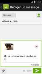 Bouygues Telecom Ultym 5 II - Contact, Appels, SMS/MMS - Envoyer un MMS - Étape 18