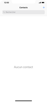 Apple iPhone XS Max - Contact, Appels, SMS/MMS - Ajouter un contact - Étape 4