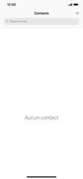 Apple iPhone XR - Contact, Appels, SMS/MMS - Ajouter un contact - Étape 4