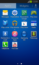 Samsung S7390 Galaxy Trend Lite - Réseau - Sélection manuelle du réseau - Étape 3