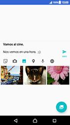 Sony Xperia XZ (F8331) - Mensajería - Escribir y enviar un mensaje multimedia - Paso 14