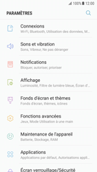 Samsung Galaxy S7 - Android Nougat - Wifi - configuration manuelle - Étape 3