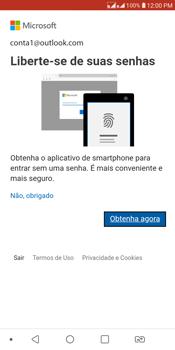 LG K12+ - Email - Como configurar seu celular para receber e enviar e-mails - Etapa 10