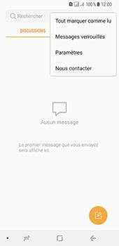 Samsung Galaxy A8 (2018) - SMS - Configuration manuelle - Étape 5