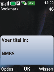 Nokia 6600i slide - Internet - Internetten - Stap 11