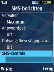 Samsung B2710 Xcover 271 - SMS - Handmatig instellen - Stap 6