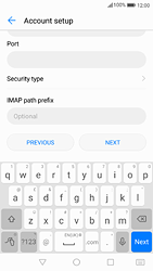 Huawei P9 - Android Nougat - E-mail - Manual configuration IMAP without SMTP verification - Step 12