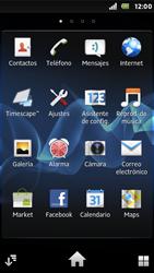 Sony Xperia U - Internet - Activar o desactivar la conexión de datos - Paso 3
