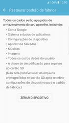 Samsung Galaxy S7 Edge - Funções básicas - Como restaurar as configurações originais do seu aparelho - Etapa 6