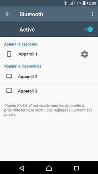 Sony F3211 Xperia XA Ultra - WiFi et Bluetooth - Jumeler votre téléphone avec un accessoire bluetooth - Étape 8