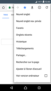 Sony Xperia XA1 Ultra - Internet et connexion - Naviguer sur internet - Étape 13