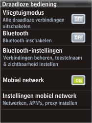HTC F3188 Smart - MMS - handmatig instellen - Stap 5