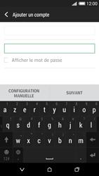 HTC Desire 620 - E-mail - Configuration manuelle - Étape 7