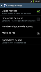 Samsung Galaxy S4 - Internet - Configurar Internet - Paso 7