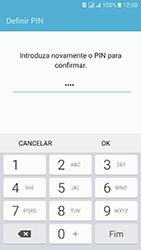 Samsung Galaxy J5 (2016) DualSim (J510) - Segurança - Como ativar o código de bloqueio do ecrã -  10