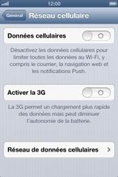 Apple iPhone 4 - iOS 6 - MMS - configuration manuelle - Étape 6