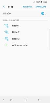 Samsung Galaxy S8 - Android Oreo - Wi-Fi - Como ligar a uma rede Wi-Fi -  7
