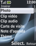 Nokia 2330 classic - E-mail - envoyer un e-mail - Étape 10