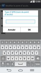 LG G2 mini LTE - Internet - Configuration manuelle - Étape 14