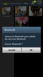 Samsung Galaxy Note 2 - Photos, vidéos, musique - Envoyer une photo via Bluetooth - Étape 11
