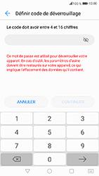 Honor 6A - Sécuriser votre mobile - Activer le code de verrouillage - Étape 7