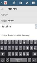 Samsung Galaxy Ace 3 - E-mails - Envoyer un e-mail - Étape 10