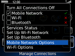 BlackBerry 8520 Curve - Internet - Enable or disable - Step 4