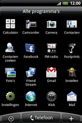 HTC A6363 Legend - Buitenland - Bellen, sms en internet - Stap 4