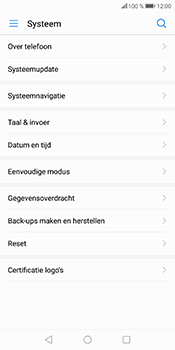 Huawei P Smart - Toestel - Software update - Stap 6
