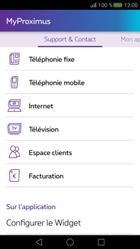Huawei Mate S - Applications - MyProximus - Étape 22